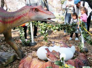 むさしの村 恐竜ロボット